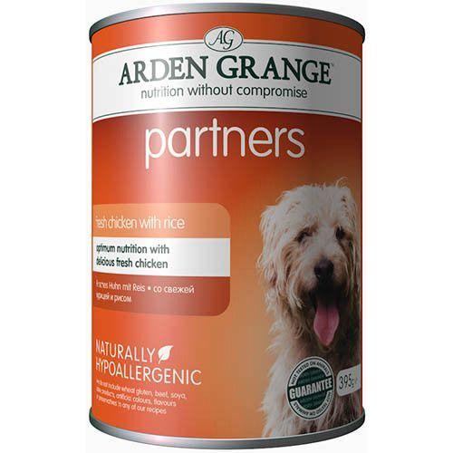 Корм для собак ARDEN GRANGE Курица, рис конс. 395г корм для собак arden grange