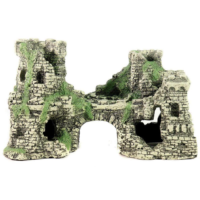 Грот для аквариумов DEKSI Крепость №201 (19,5х9х12см)