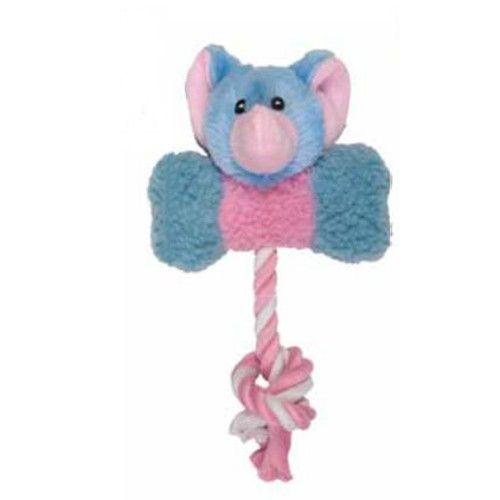 Игрушка для собак CHOMPER Puppy Слоненок с косточкой плюш
