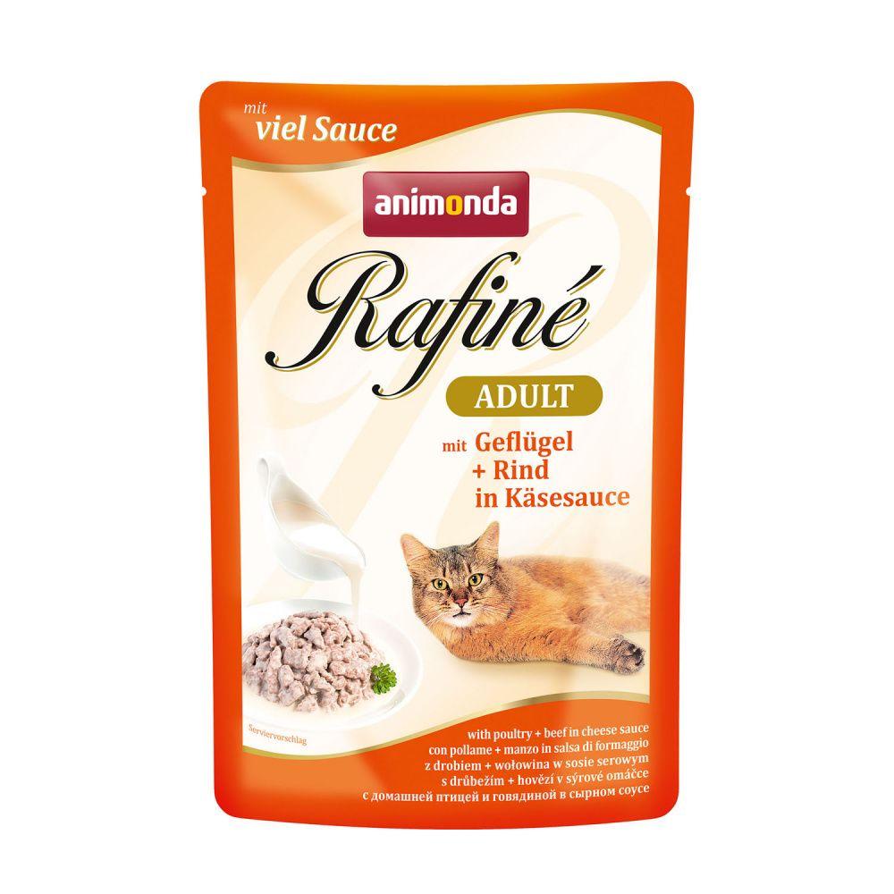 Фото - Корм для кошек Animonda Rafin Soup домашняя птица в сырном соусе конс. пауч корм для кошек animonda rafin soup коктейль из индейки телятины и сыра конс 100г