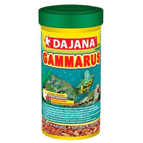 Корм для рыб и рептилий DAJANA Gammarus гаммарус 250мл dajana корм для рыб dajana legend mini granules мини гранулы 100мл