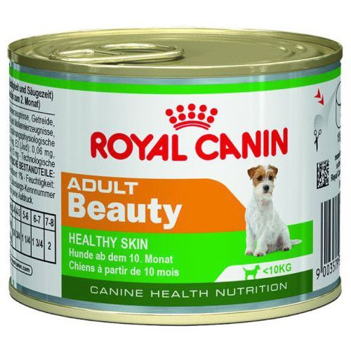 Корм для собак ROYAL CANIN Adult Beauty с 10 месяцев до 8 лет конс. 195г корм для щенков royal canin роял канин junior до 10 месяцев конс 195г