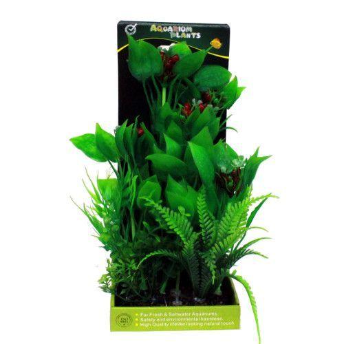 Искусственное растение МЕЙДЖИНГ АКВАРИУМ 28см, в картонной коробке №11