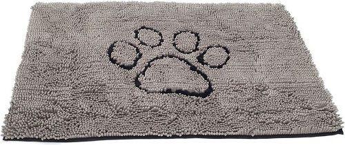 Коврик для собак Dog Gone Smart супервпитывающий Doormat размер M 51х79см серый