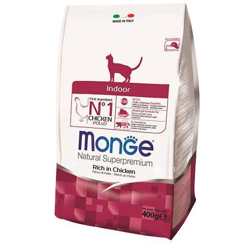 Корм для кошек Monge Cat Indoor для домашних кошек сух. 400г