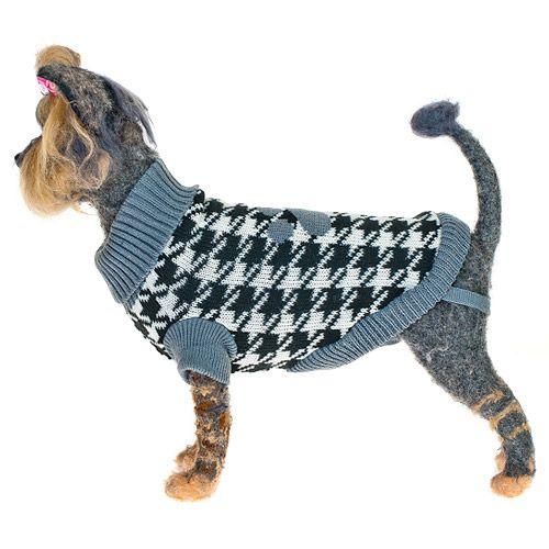 Пуловер для собак HAPPY PUPPY Оксфорд-3 мальчик 28см