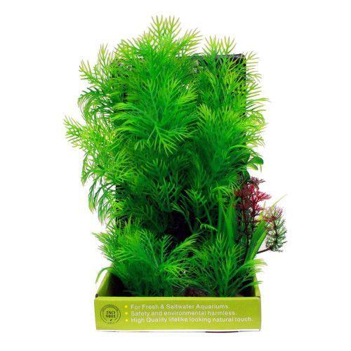 Искусственное растение МЕЙДЖИНГ АКВАРИУМ 22см, в картонной коробке №17