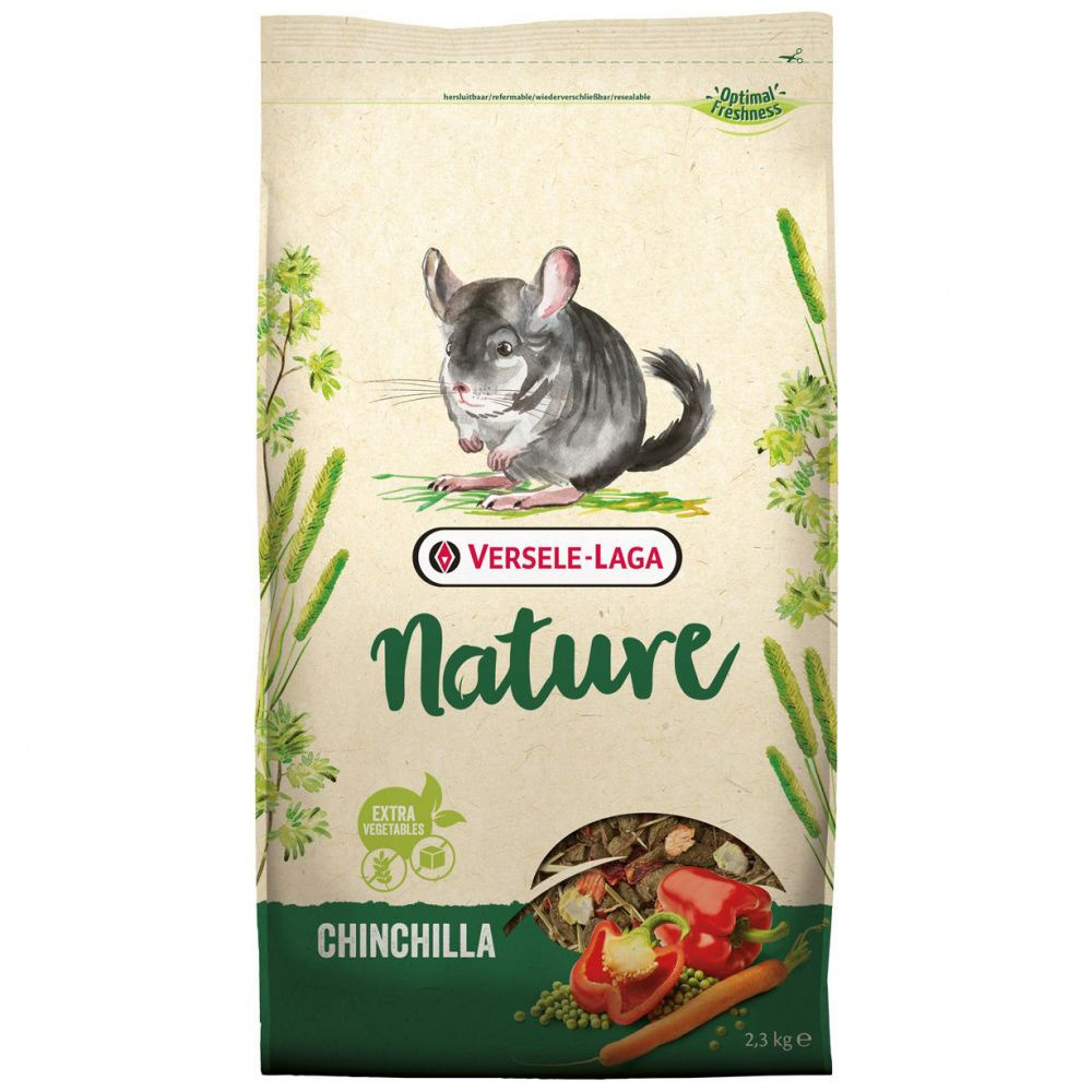 Корм для грызунов VERSELE-LAGA Nature Chinchilla для шиншилл 2,3кг
