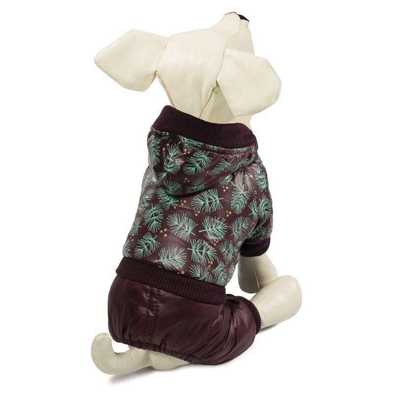Комбинезон для собак TRIOL зимний Шишки S, размер 25см