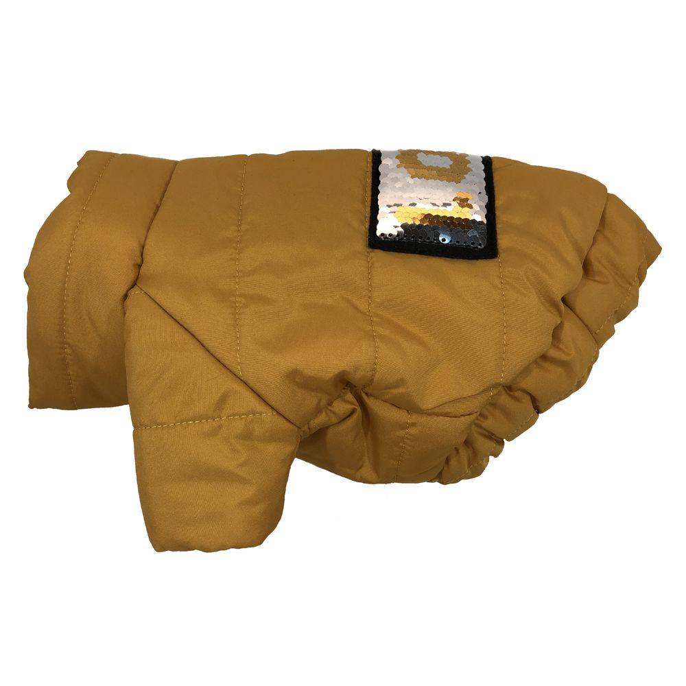 Куртка для собак ДОГ МАСТЕР стеганая с декором L 28 см свитер для собак дог мастер поло размер l 28 см