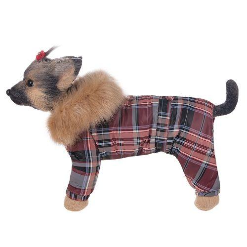 Комбинезон для собак Dogmoda Winter зимний девочка, размер 2 24см цены онлайн