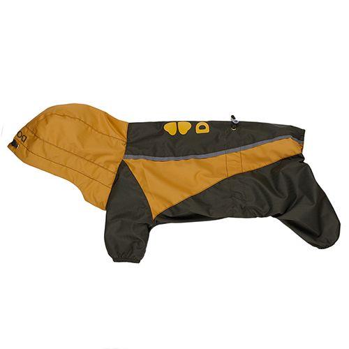 Комбинезон для собак Dogmoda Энерджи (желтый)-3 28см