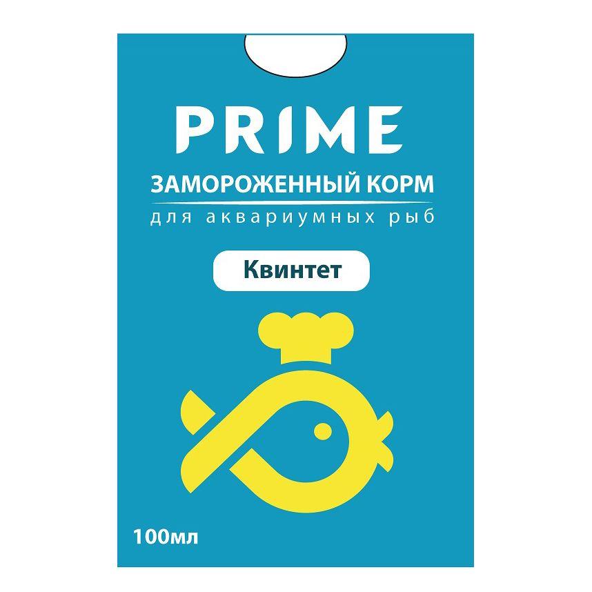 Корм для рыб PRIME Квинтет в блистере 100мл фото