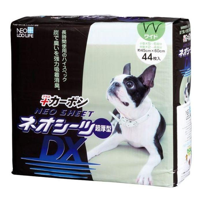 Пелёнки для кошек и собак NEO SHEET DX с активированным углем 45x60см 44шт очищающая маска с активированным углем aravia отзывы