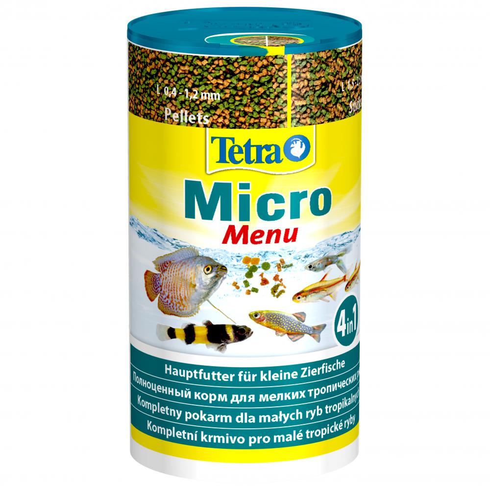 цена на Корм для рыб TETRA Micro Menu 100мл