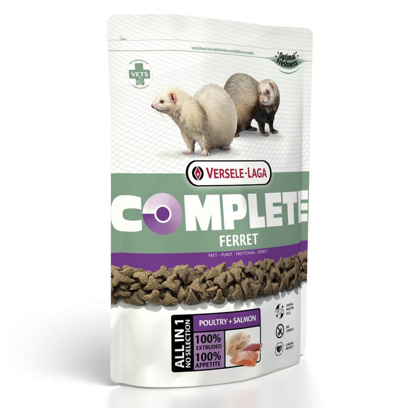 Корм для грызунов VERSELE-LAGA Complete Ferret для хорьков 750г