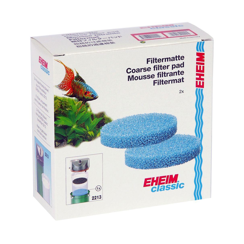Фильтрующий материал EHEIM для фильтра Classic 2213 2шт губка katadyn элемент фильтрующий для водяного фильтра combi
