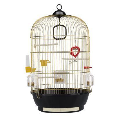 Клетка для птиц FERPLAST DIVA золото 40x65см