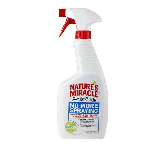 8 IN 1 NATURES MIRACLE Спрей-антигадин для кошек 710мл