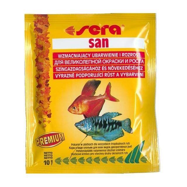 цена на Корм для рыб SERA San 10г (пакетик)