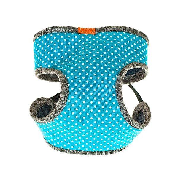 цены на Шлейка для собак HAPPY PUPPY Шатель голубая-1 20см  в интернет-магазинах