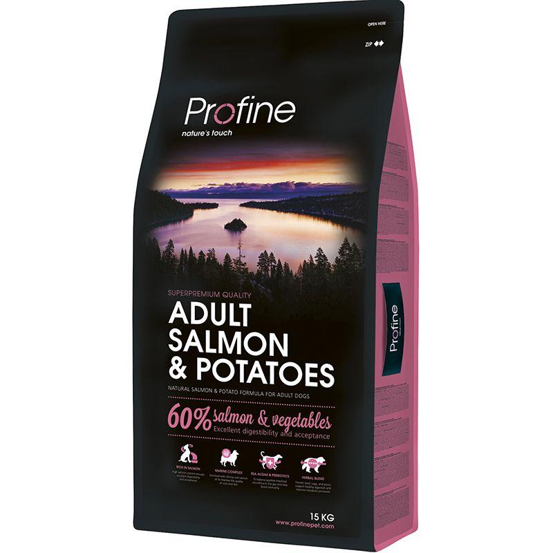 Корм для собак PROFINE лосось сух. 15кг фото