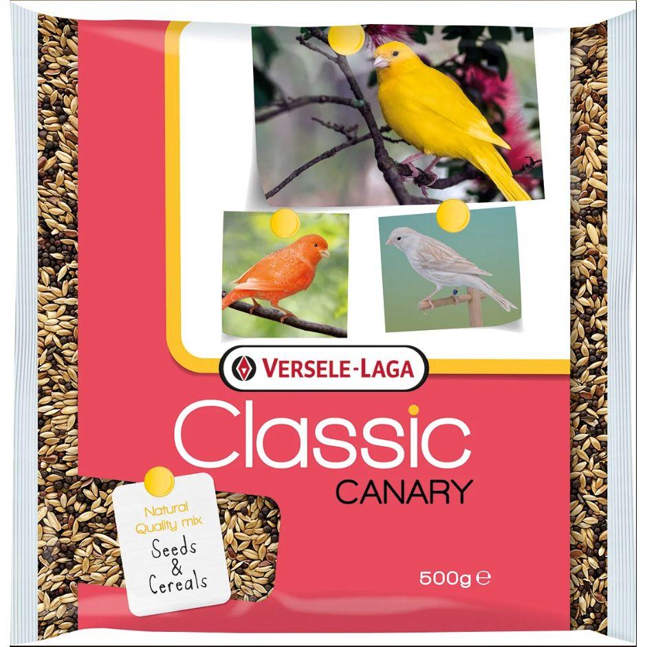 Корм для птиц VERSELE-LAGA Classic Canary для канареек 500г sarah canary