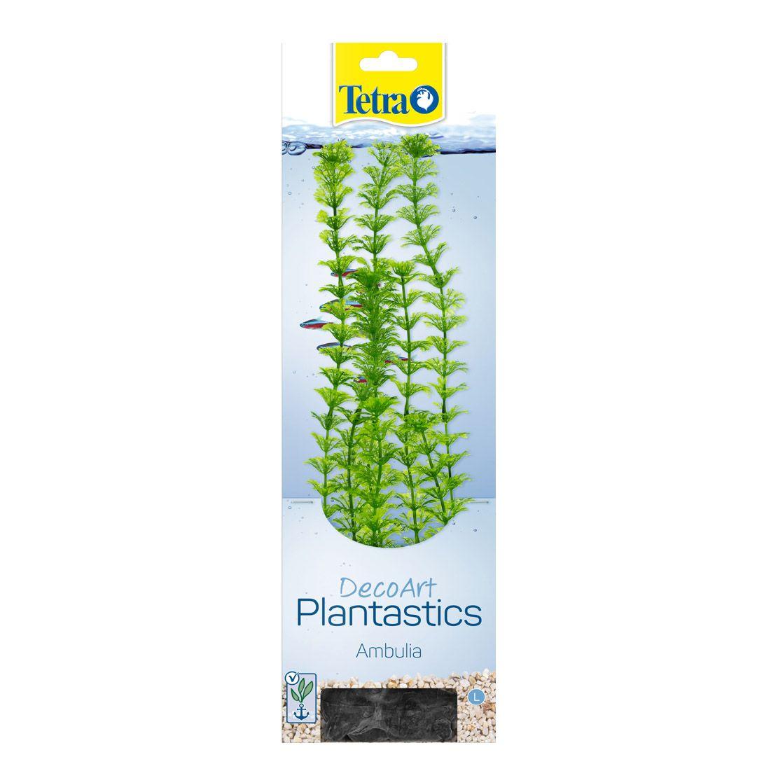 Растение TETRA Deco Art искусственное Амбулия L (30см) растение искусственное в горшке лаванда 30см