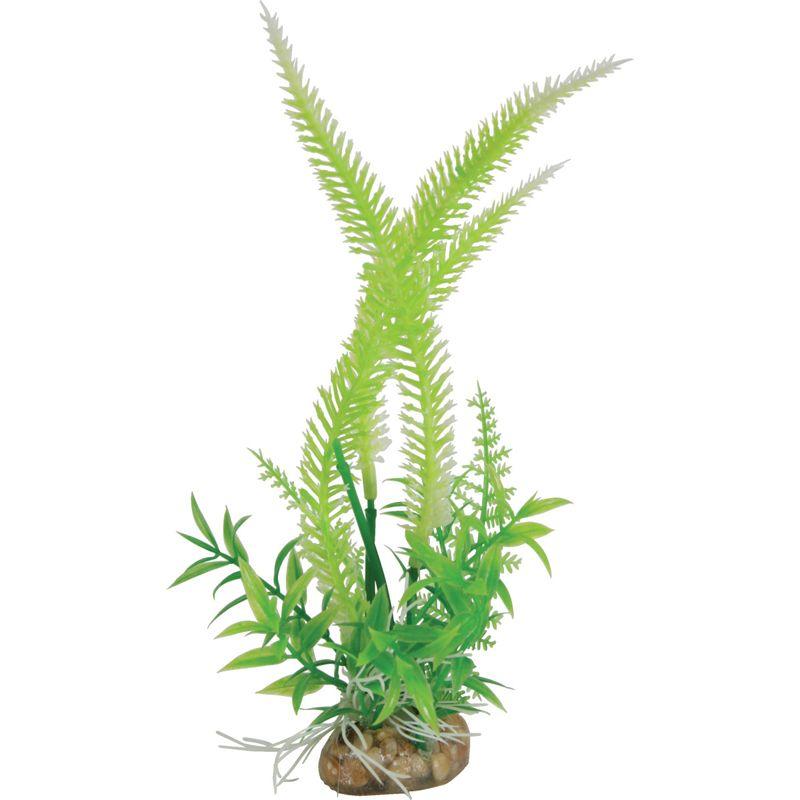 Растение для аквариумов ZOLUX пластиковое композиция Medium 4,5x3x30см
