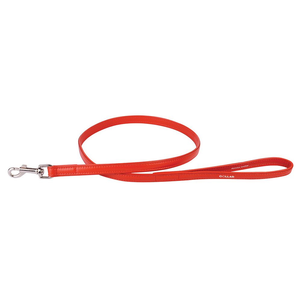 Поводок для собак COLLAR Glamour 9мм 122см красный