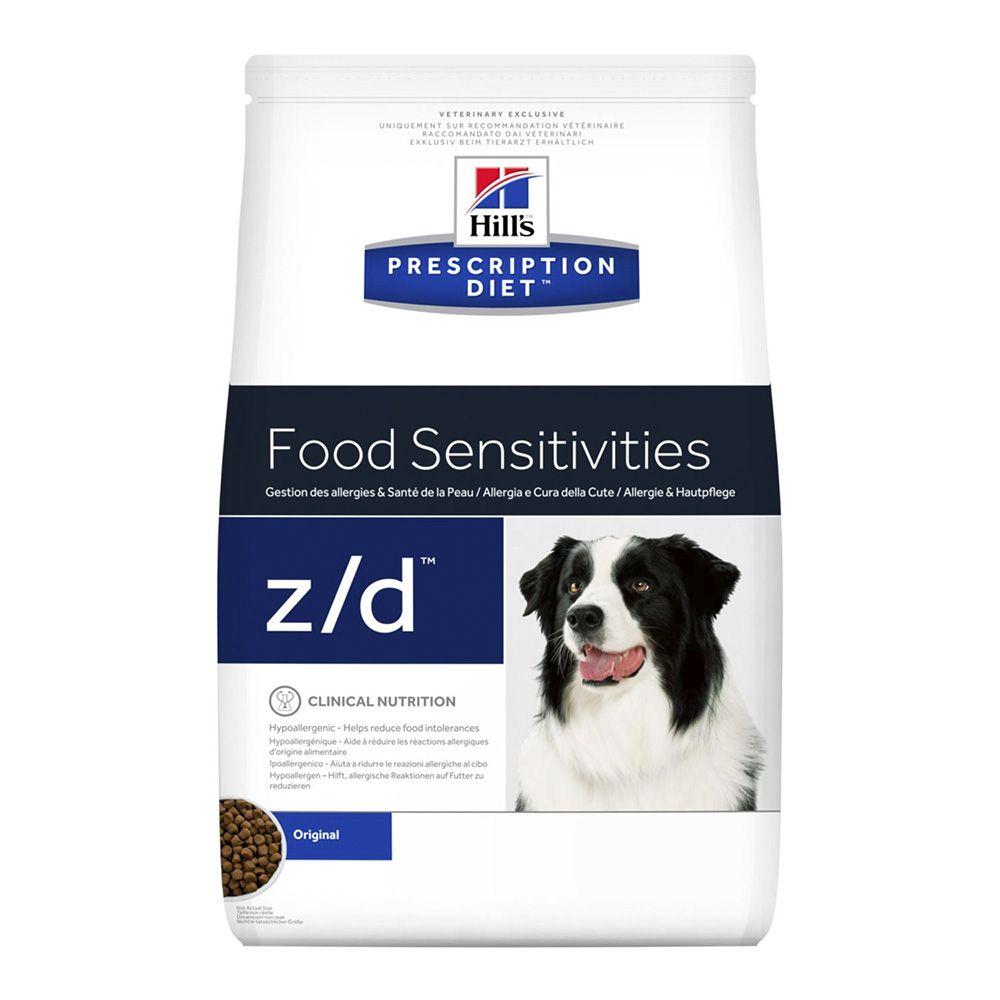 Фото - Корм для собак Hill's Prescription Diet Canine Z/D Ultra при острых пищ.аллергиях, курица сух. 8кг корм для собак hill s prescription diet canine z d ultra при пищевой аллергии конс 370г