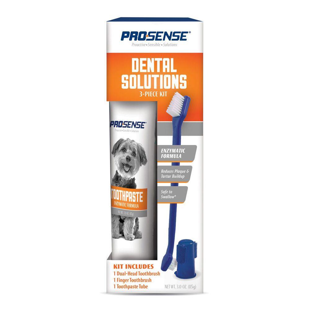 Набор для ухода за зубами для собак 8 in 1 Pro-Sense 3 в 1 caisy 1 1 60g in 5g