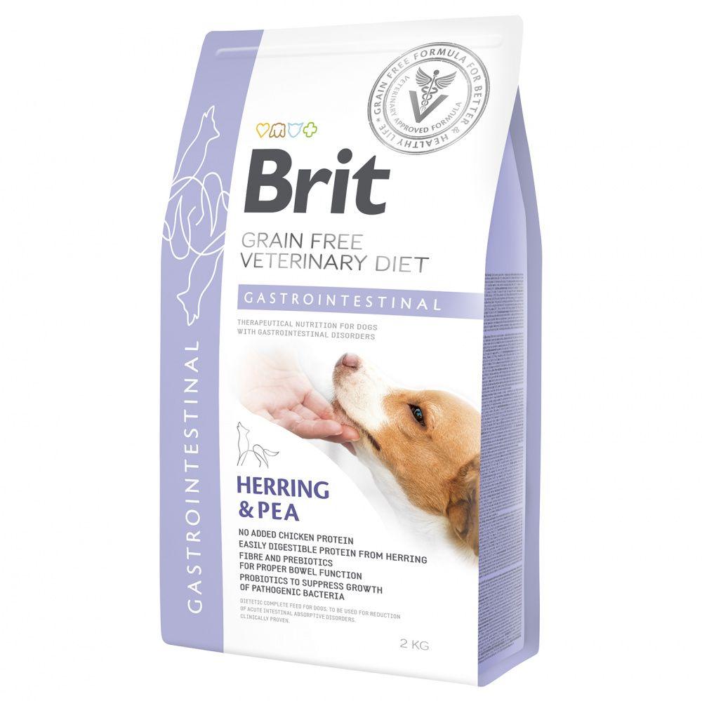 Корм для собак Brit VDD Gastrointestinal беззерновая диета при остр. и хрон. гастроэнтеритах сух. 2к