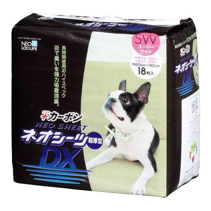 Пеленки для кошек и собак NEO SHEET DX с активированным углем 60x90см 18шт очищающая маска с активированным углем aravia отзывы