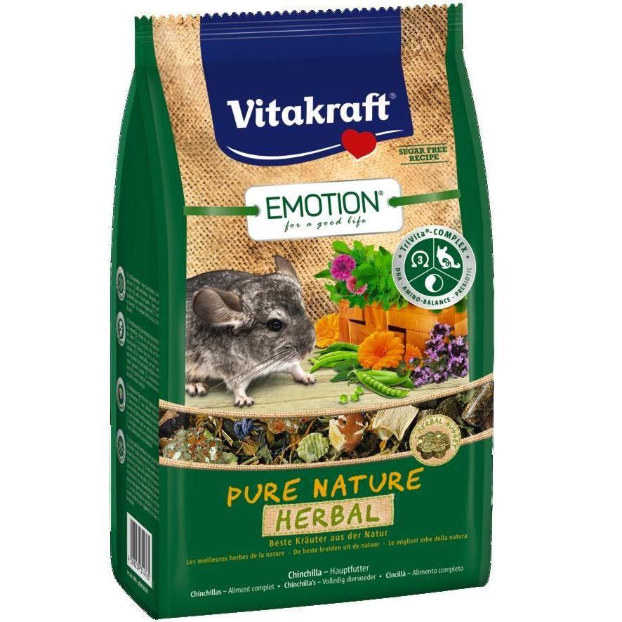 Корм для грызунов VITAKRAFT Pure Nature Herbal для шиншилл