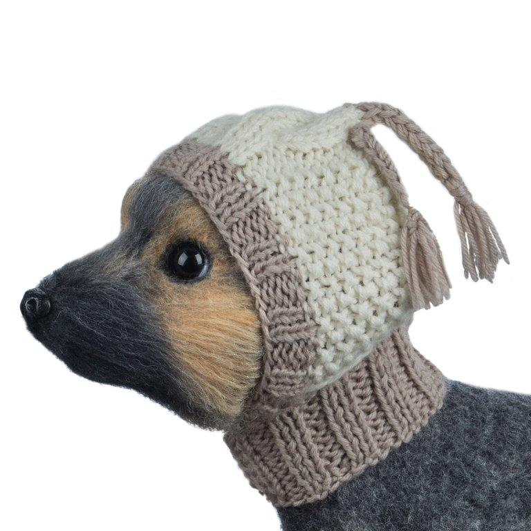 Шапочка для собак Dogmoda вязаная, размер 2