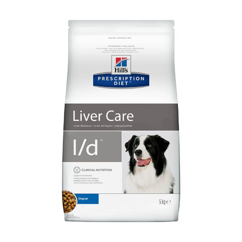 Фото - Корм для собак Hill's Prescription Diet Canine L/D при заболеваниях печени сух. 5кг корм для собак hill s prescription diet canine z d ultra при пищевой аллергии конс 370г