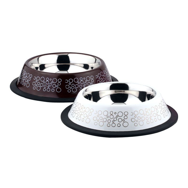 Миска для животных Foxie Circle Bowl металлическая 400мл миска outwell collaps bowl l plum 650474