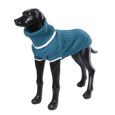 Свитер для собак RUKKA Mid Knitwear бирюзовый размер XL 50см