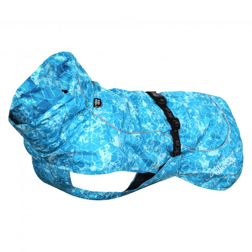 Дождевик для собак RUKKA Drizzle 35см голубой