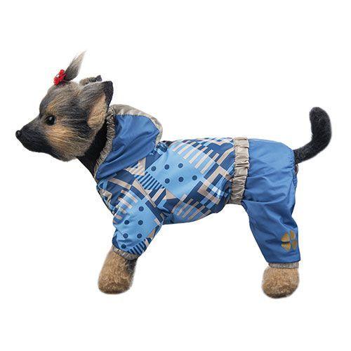 Комбинезон для собак Dogmoda Прогулочный унисекс-1 20см