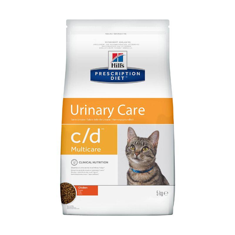 Фото - Корм для кошек Hill's Prescription Diet Feline C/D при лечении МКБ сух. 5кг feline psychologist