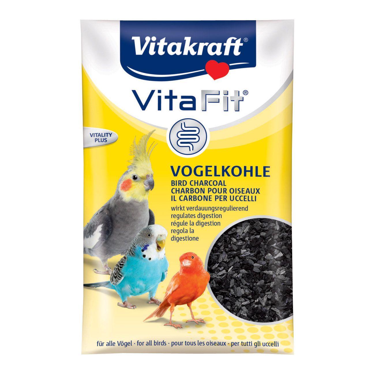 цена на Подкормка для птиц VITAKRAFT Уголь древесный для птиц 10г