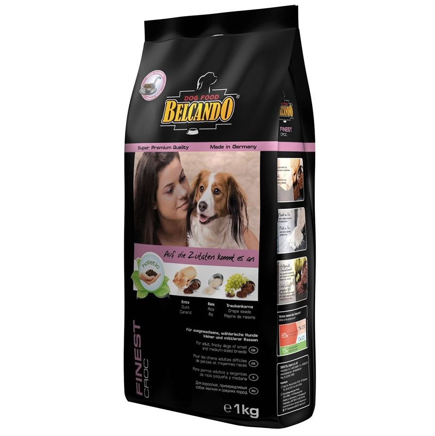 Корм для собак Belcando для привередливых собак мелких и средних пород сух. 1кг цена