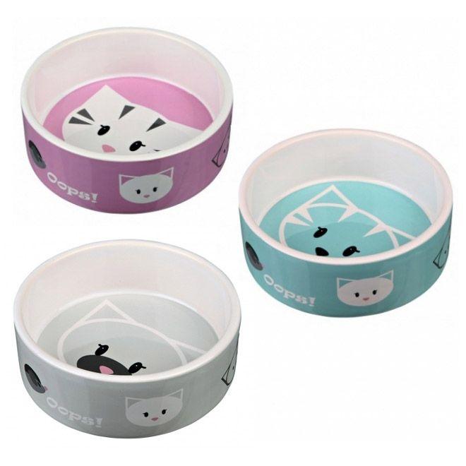 Миска для кошек TRIXIE Mimi керамическая 12см 0,3л
