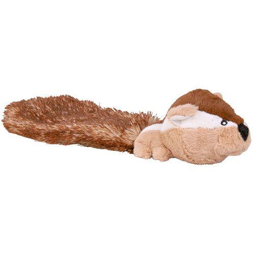 Игрушка для собак TRIXIE Бурундук с длинным хвостом плюш 30см игрушка для собак trixie еж плюш 17см