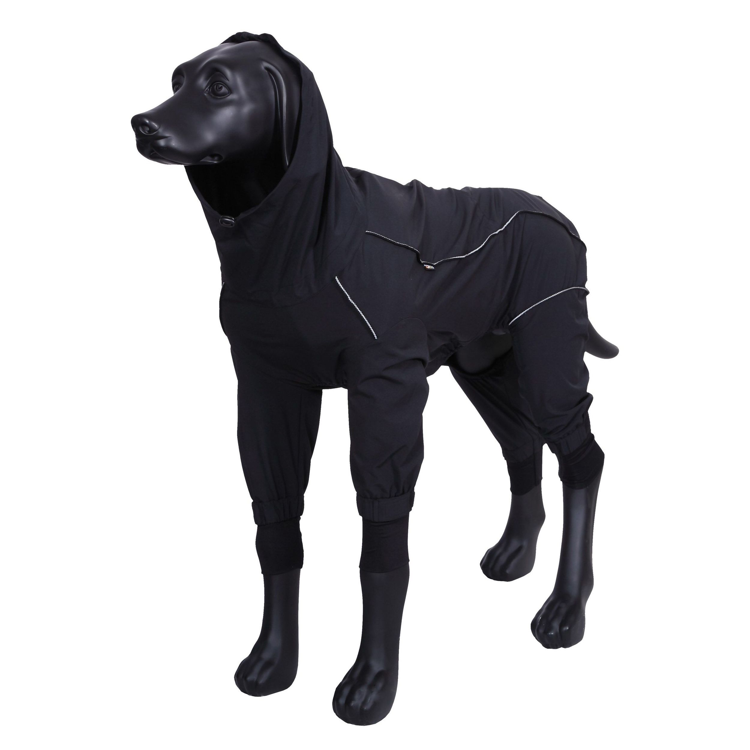 Комбинезон для собак RUKKA Protect overall 2.0 25см черный недорого