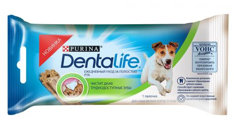 Лакомства для собак DentaLife Small Single 16,4г