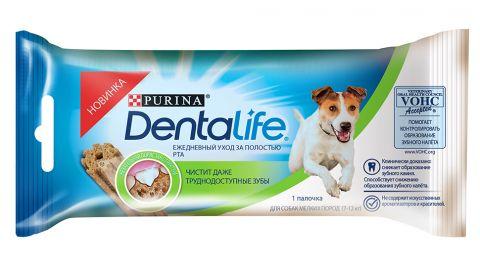 Лакомства для собак DentaLife Small Single 16,4г