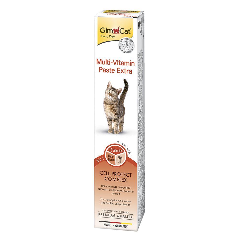 Паста для кошек GIMBORN GimCat Multi-Vitamin Extra 50г финалгель 50г
